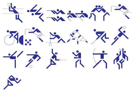 Pictograms Munich 1972