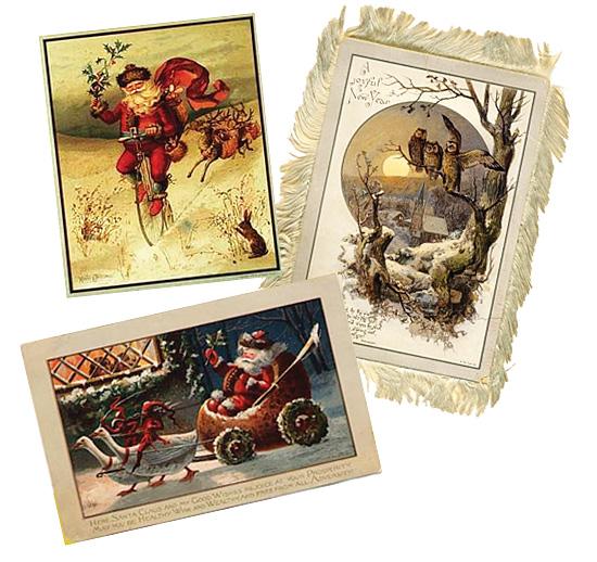 Christmas cards Louis Prang