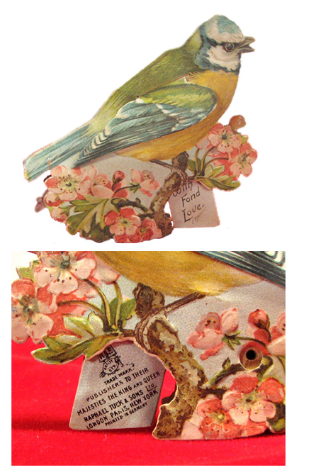 Paper postcard toys in the 1890's